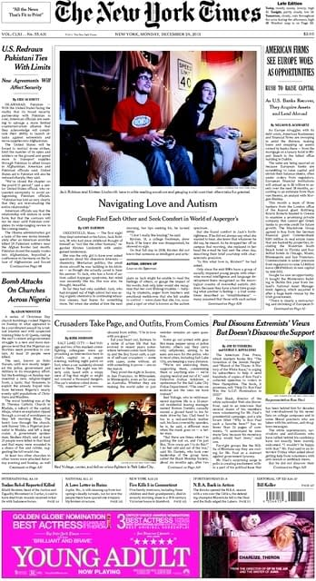 New York Times Put Real Life Superheroes On The Front Page