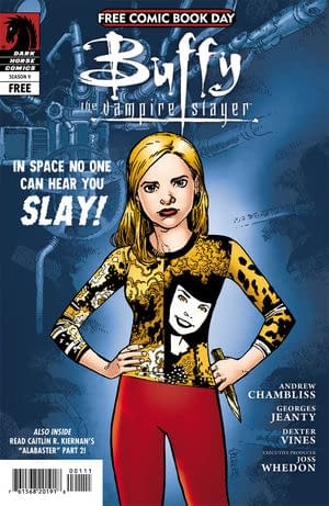 Buffy Vs Aliens For Free Comic Book Day?
