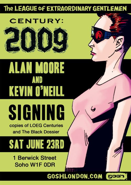 The Anti Christ Comes To South London – Kevin O'Neill Talks League Of Extraordinary Gentlemen: Century 2009 And Beyond (VIDEO)