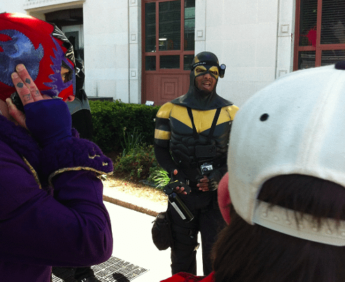 Phoenix Jones, His Nemesis And Seattle's May Day Protests