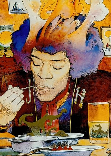 Swipe File: Jimi Hendrix And Lou Reed