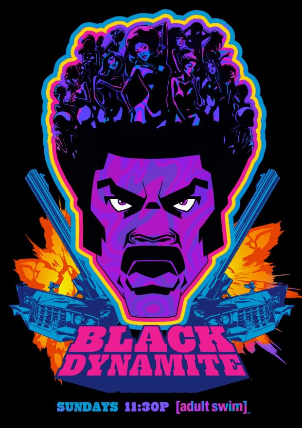 Swipe File: Black Dynamite and Adjust Your Color