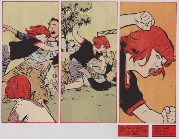 Kids And Violence In Today's Comics. Literally, Today's Comics.