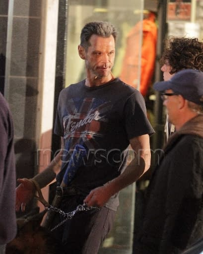 Photos And Video Of Jim Carrey As Colonel Stars With Justice Forever On Kick Ass 2 Set – UPDATED