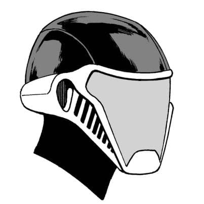 Jim Starlin And Walter Simonson Show Off Their Helmets