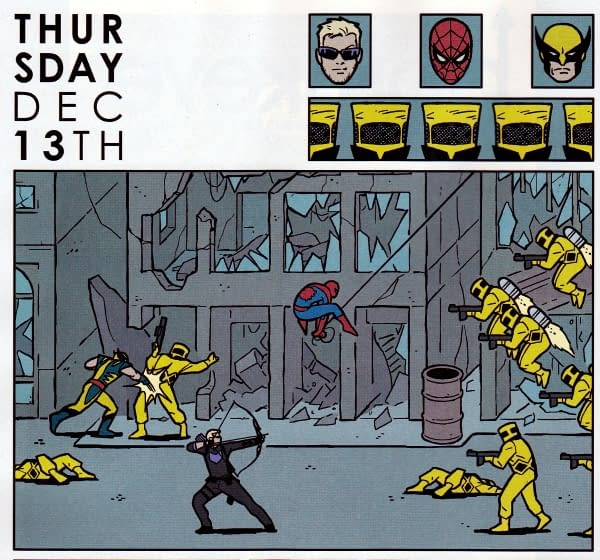 Fourteen Thoughts About Fourteen Comics – Hawkeye, Empowered, All-New X-Men, Nightwing, Catwoman, Wonder Woman, Moloch, A Plus X, Ultimates, Uncanny X-Force, Saga, MacGyver, Supreme,