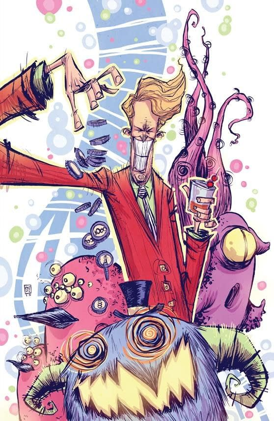 Skottie Young's Lost Vegas Variant Takes A Rather Disturbing Turn…
