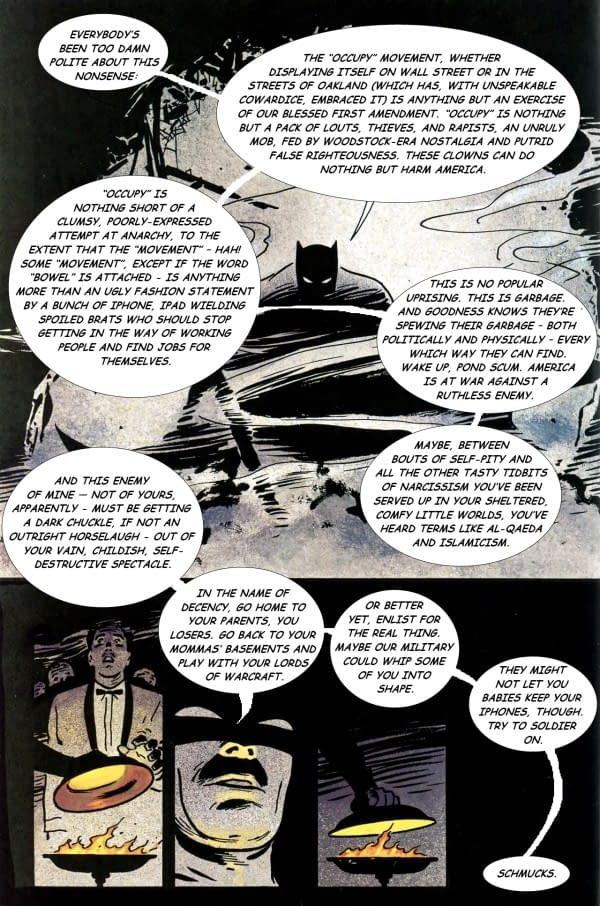 Kick Ass Read Frank Miller's Batman – But Not Kevin Smith's (Spoilers)
