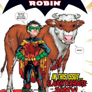 And Finally… Batcow And Robin #1
