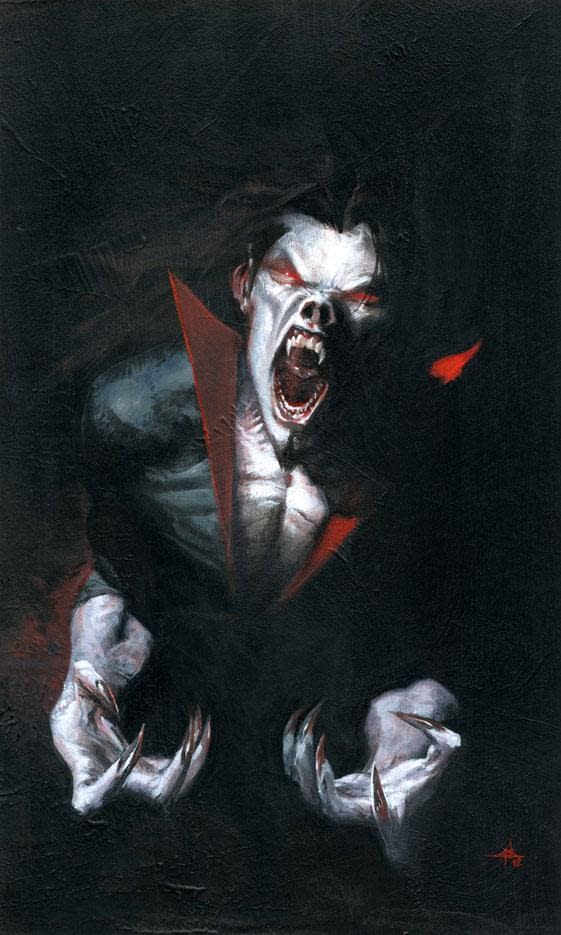 A picture of Morbius: The Living Vampre from the comics