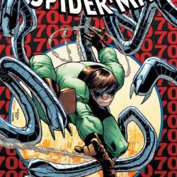 """The World's Deadest Superhero"" – Amazing Spider-Man #700 Second Print Cover"