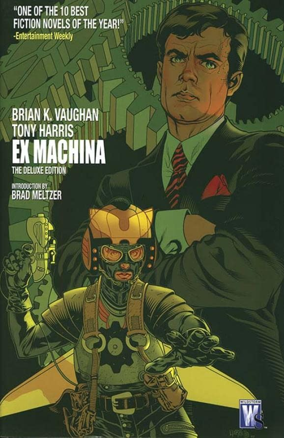 Oscar Issac to Star in, Produce Brian K. Vaughan's 'Ex Machina', titled 'The Great Machine'