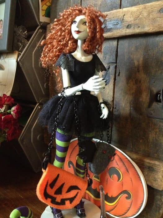 Finally! Jill Thompson's Scary Godmother Dolls Are Packed Up And Ready