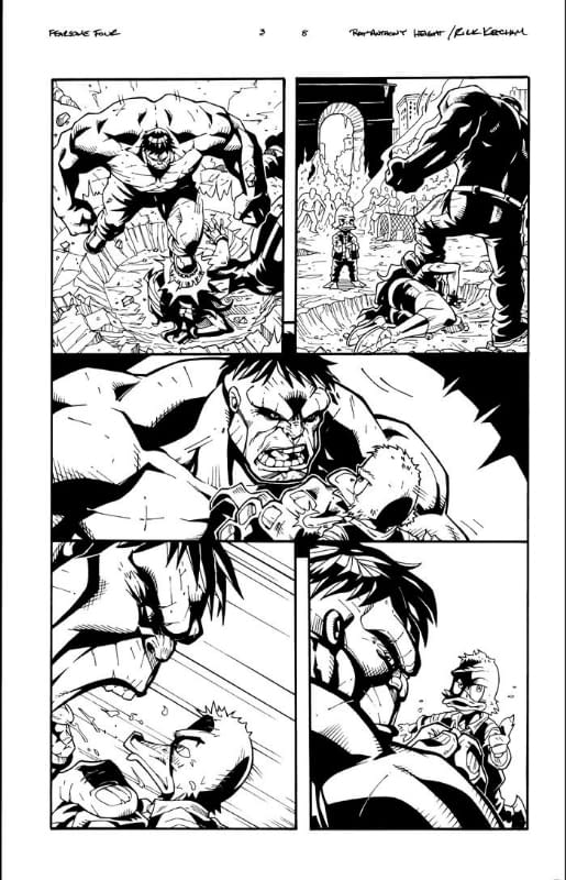 Fearsome Four Issue 3 Page 8