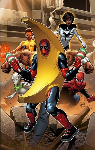 Mighty Avengers #1 Party Variant