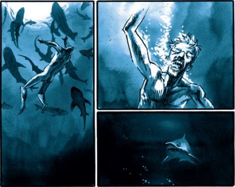Swimming with the Sharks (STILETTO)