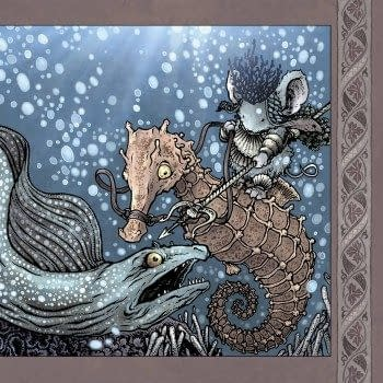 This Week's Mouse Guard To Be Destroyed Over Paper Stock