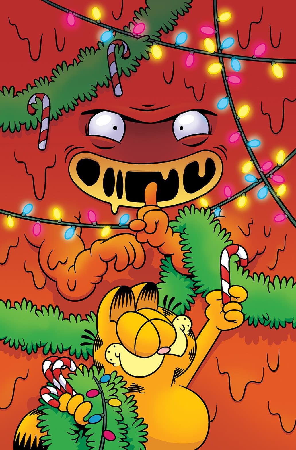 The Lasagna Monster That Stole Christmas A Garfield One Shot To Release This Holiday Season