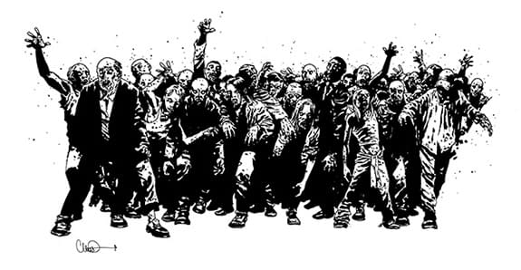 UK Comics Collective Create The Walking Dead Interactive Event at Thought Bubble