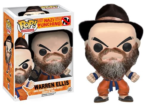 Funko: Please Make A Nazi-Punching Warren Ellis Pop! Vinyl