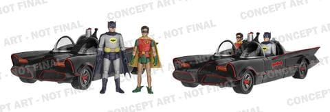 Funko Brings Us More Batman 66 Including Action Figures (Now With More Batmobile!)