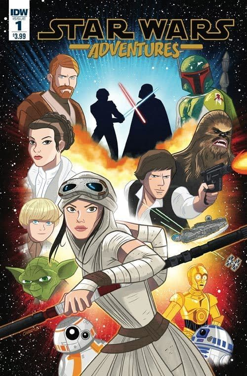 IDW Launches Star Wars Adventures, Duck Tales, Samurai Jack, Infinite Loop,Wormwood, Half Past Danger, I Am A Number And The Limbo Lounge