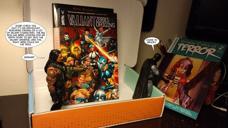Batman and Roman Reigns Unbox May's Comic Bento As The Roman Empire Clashes With The Secret Empire