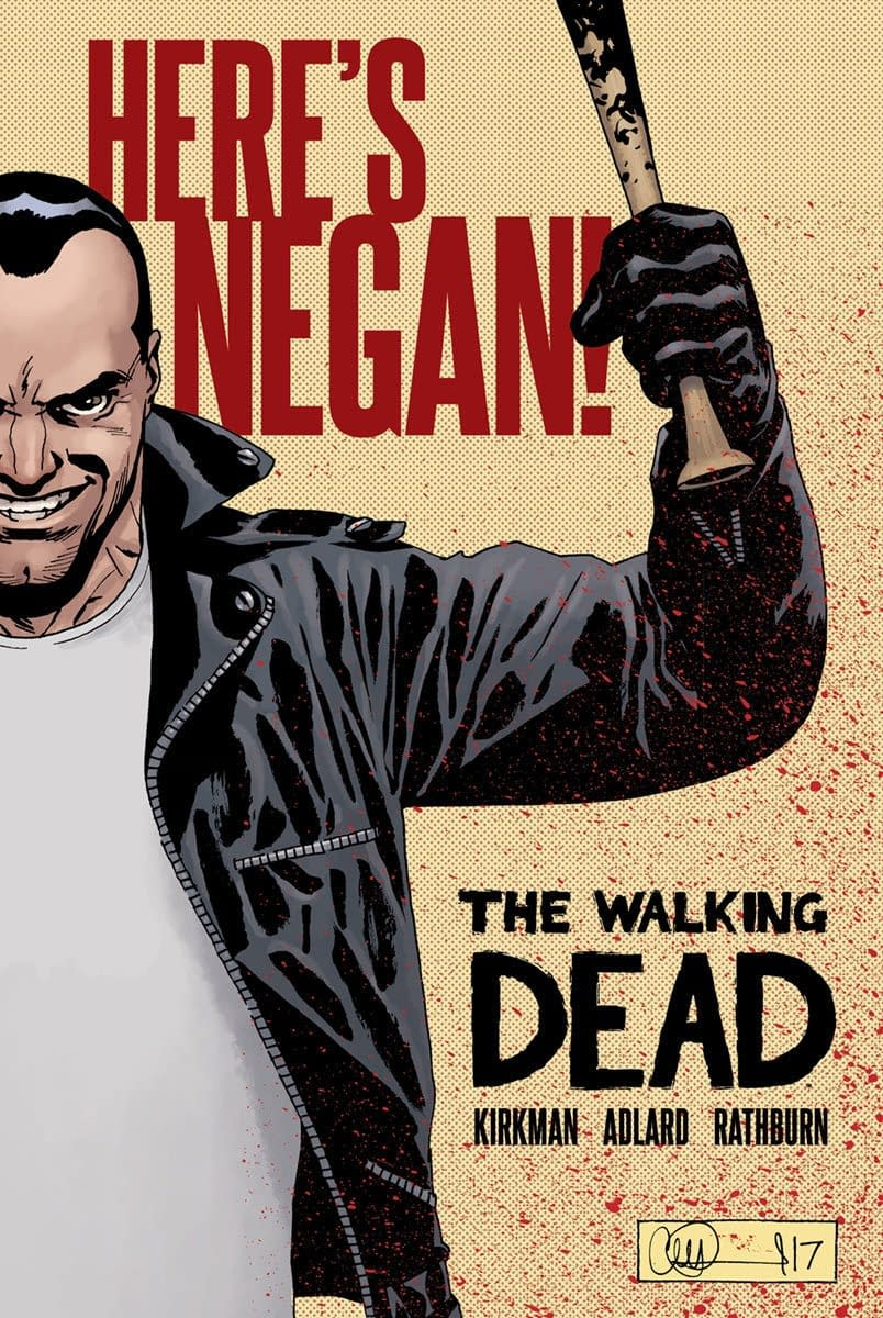 Image To Collect 'The Walking Dead: Here's Negan' From Image Plus As Hardcover In October