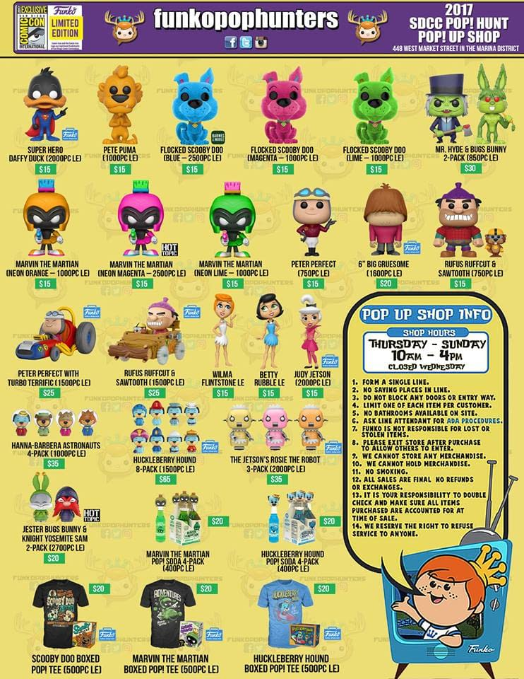Where Can You Get Funko SDCC Exclusives If You Aren't At The Show? We Have The Answer!