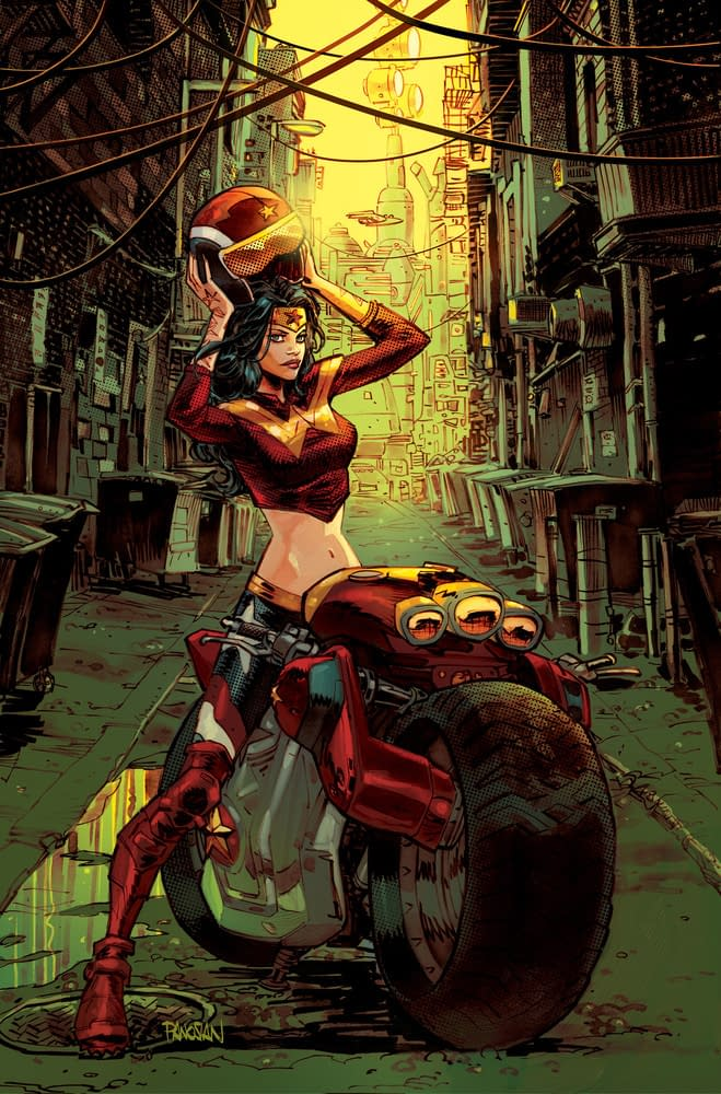 Gotham City Garage, Starring DC Superhero Women As Bikers, From Collin Kelly And Jackson Lanzing In August