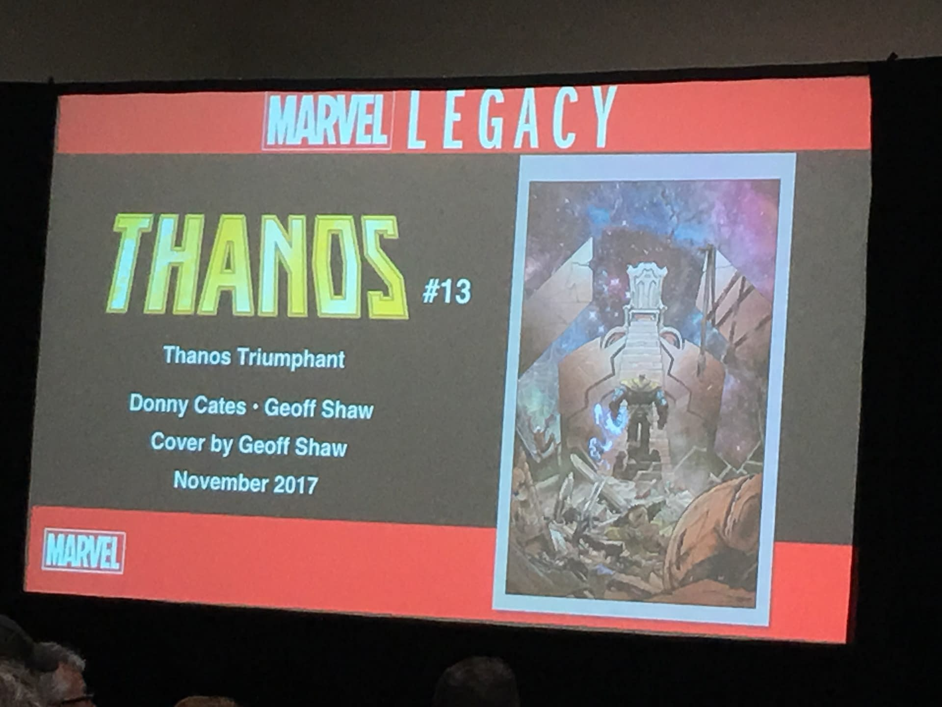 Donny Cates And Geoff Shaw Join 'Thanos' For Marvel Legacy
