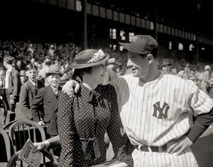 Lou and Eleanor Gehrig