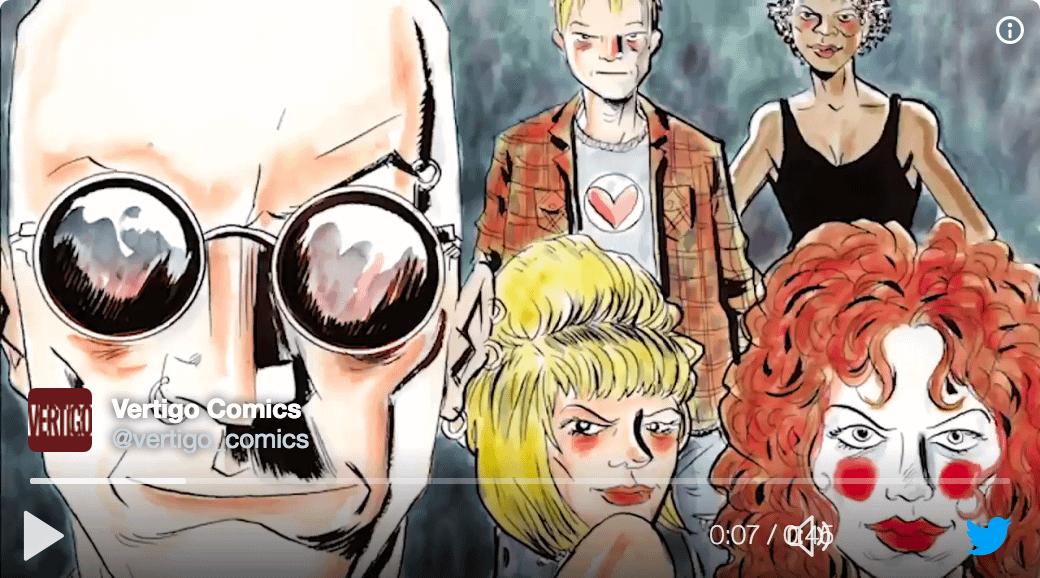 New Sandman, Death, And Invisibles Art, Plus A Mysterious Date In Vertigo's San Diego Sizzle Reel