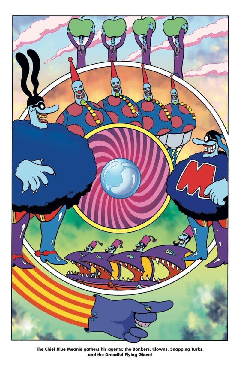 Titan Producing Beatles: Yellow Submarine Comic Adaptation By Bill Morrison