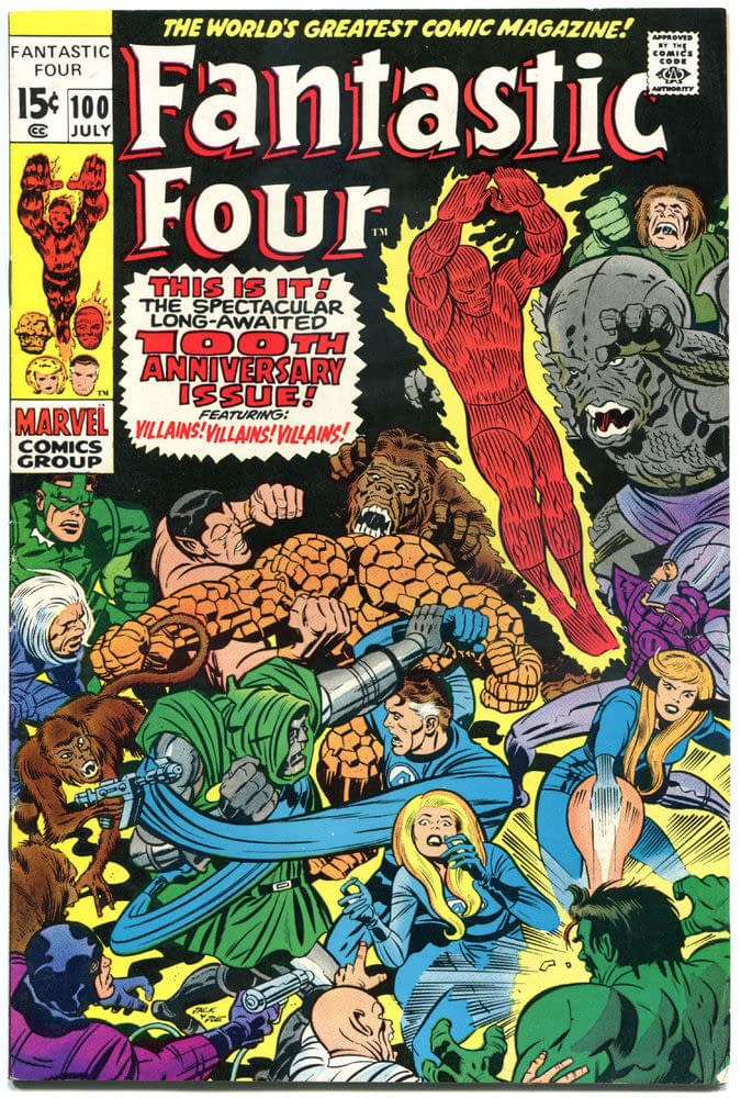 The Story Behind The Arthur Adams Cover For Fantastic Four #1