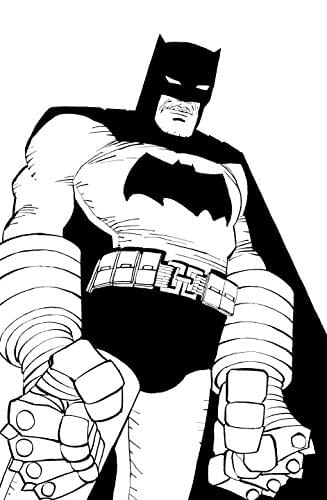 Frank Miller's Dark Knight Strikes Again, Published Without Lynn Varley's Colours