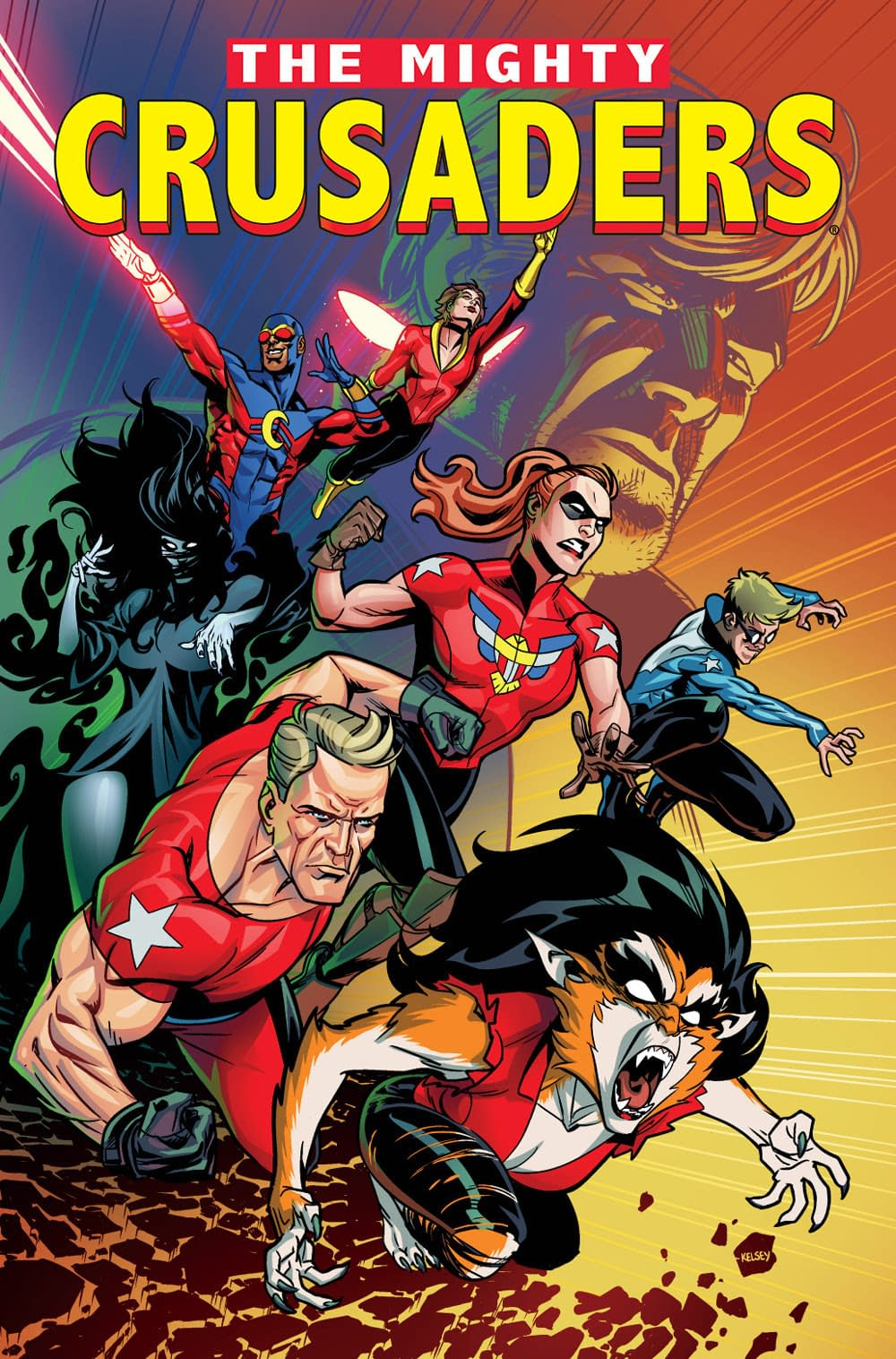 What Archie Did With That Mighty Crusaders Trademark, Plus A Cosmo Revival