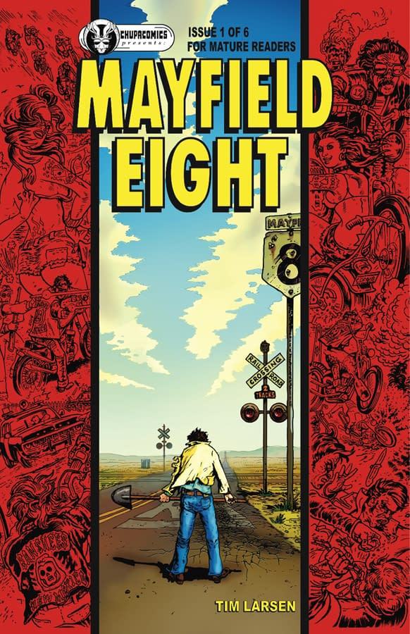 Cover to Mayfield Eight