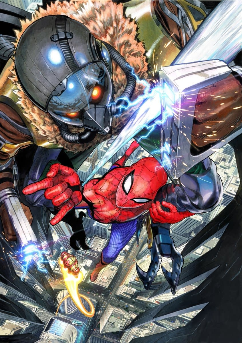Manga Artist Yusuke Murata Draws Spider-Man For Movie Poster