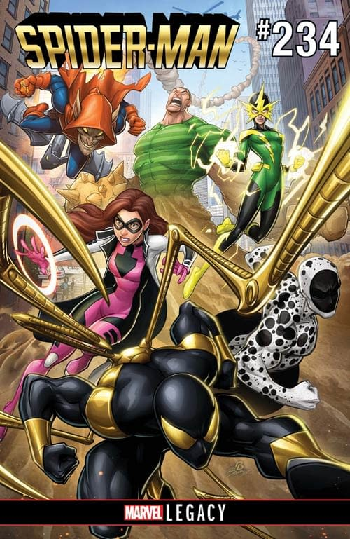 Mystery Villain Leads New Sinister Six For 'Spider-Man' From Bendis And Bazaldua