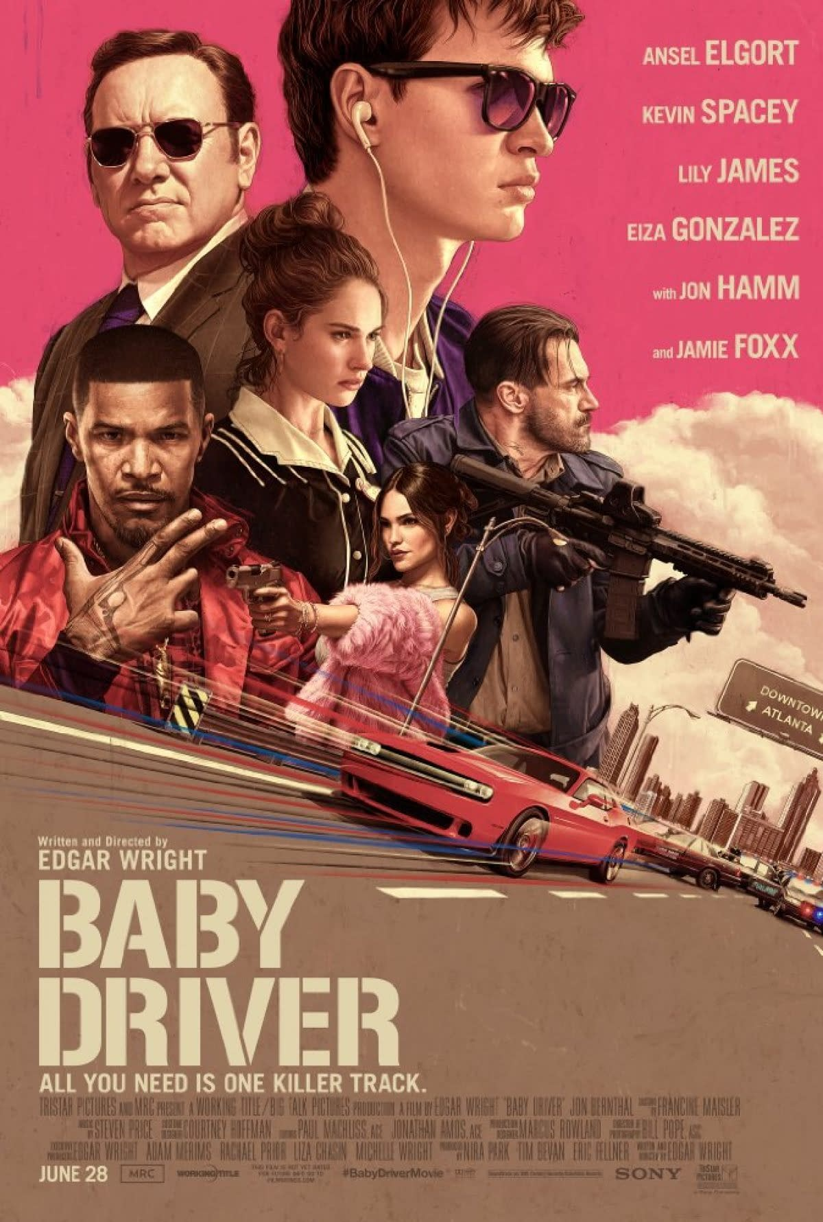 Edgar Wright Thrilled With Baby Driver's Success For Altruistic Reasons