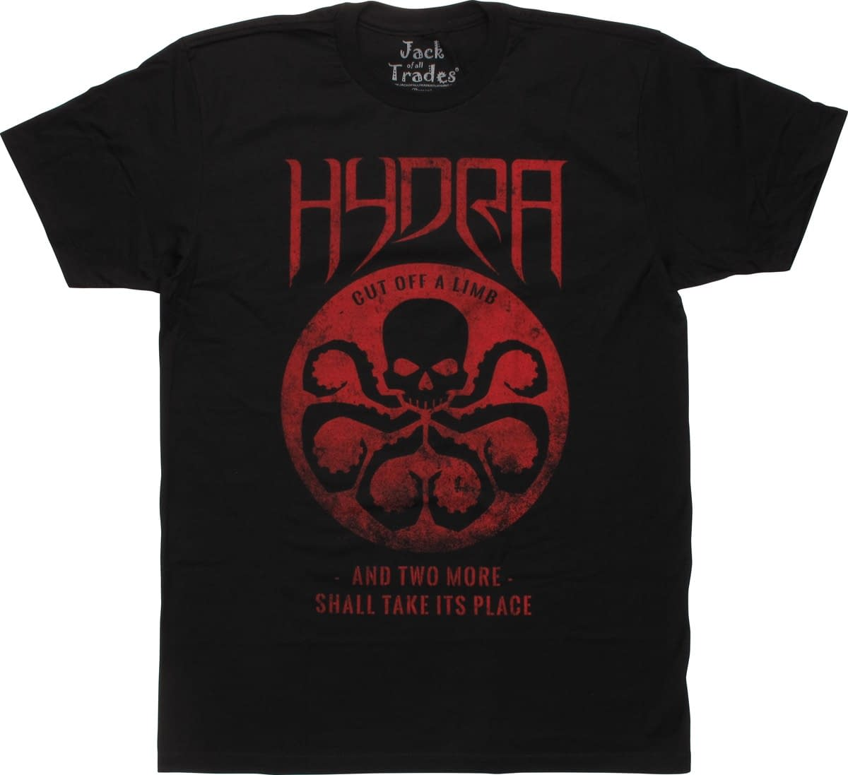 White Supremacist Spotted On CNN Wearing Hydra T-Shirt