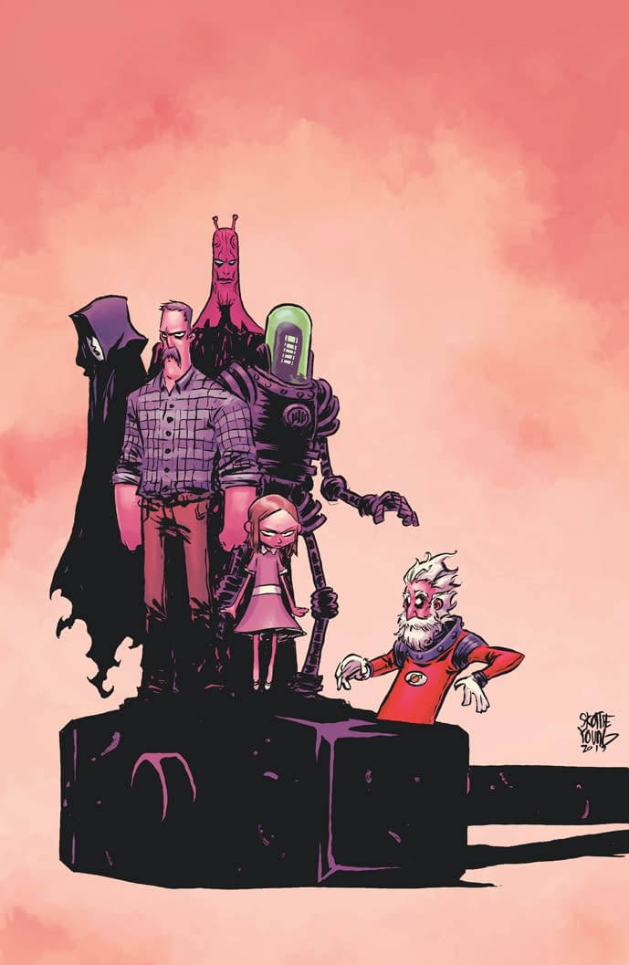 Jeff Lemire and Dean Ormston Return With Black Hammer: Age Of Doom Ongoing In 2018