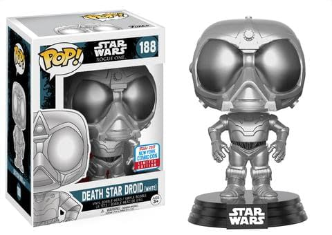Funko NYCC Exclusive Star Wars Death Star Droid White