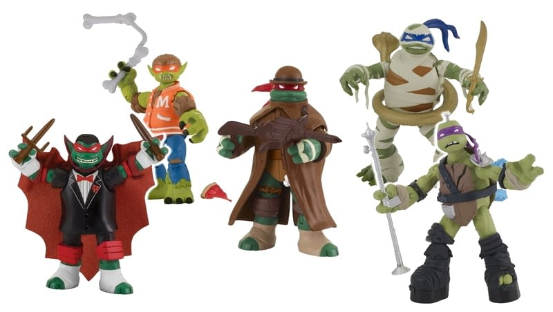 TMNT Gets New Monster Mash Up Figures In Time For Halloween