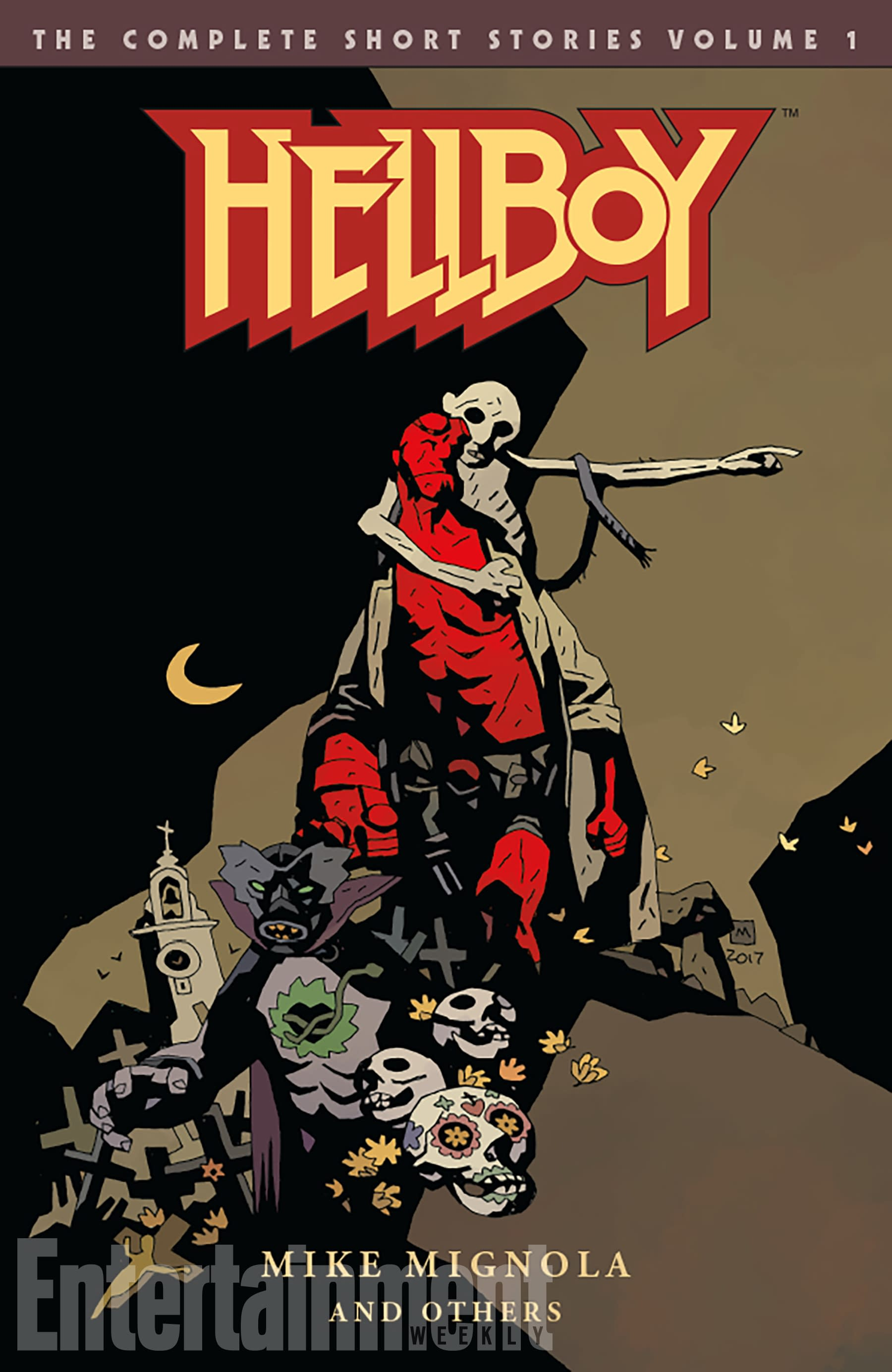 New Dark Horse 'Hellboy' Omnibus Covers By Mike Mignola Unveiled