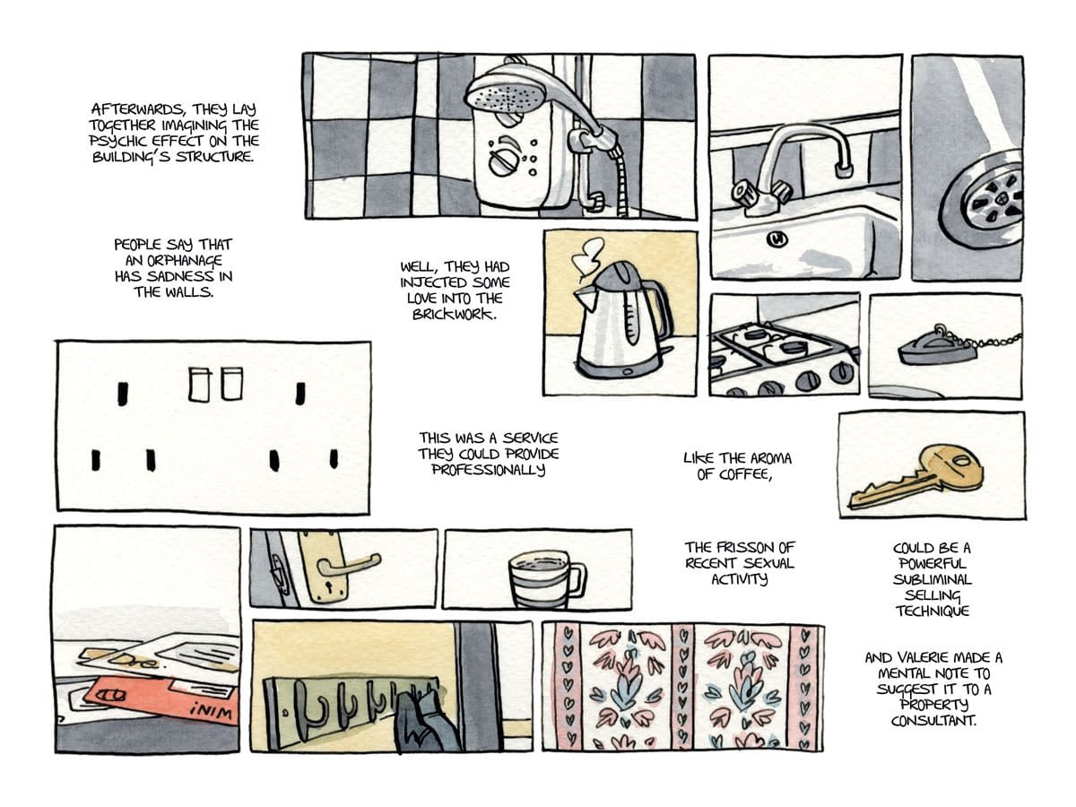 David Gaffney And Dan Berry Explore 'The Three Rooms In Valerie's Head' At Top Shelf In January