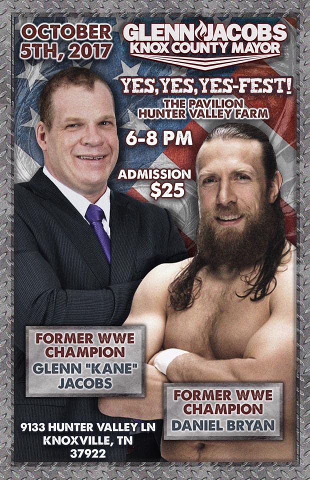 Daniel Bryan And Kane Team Up Again To Help Kane Win Republican Mayoral Nomination