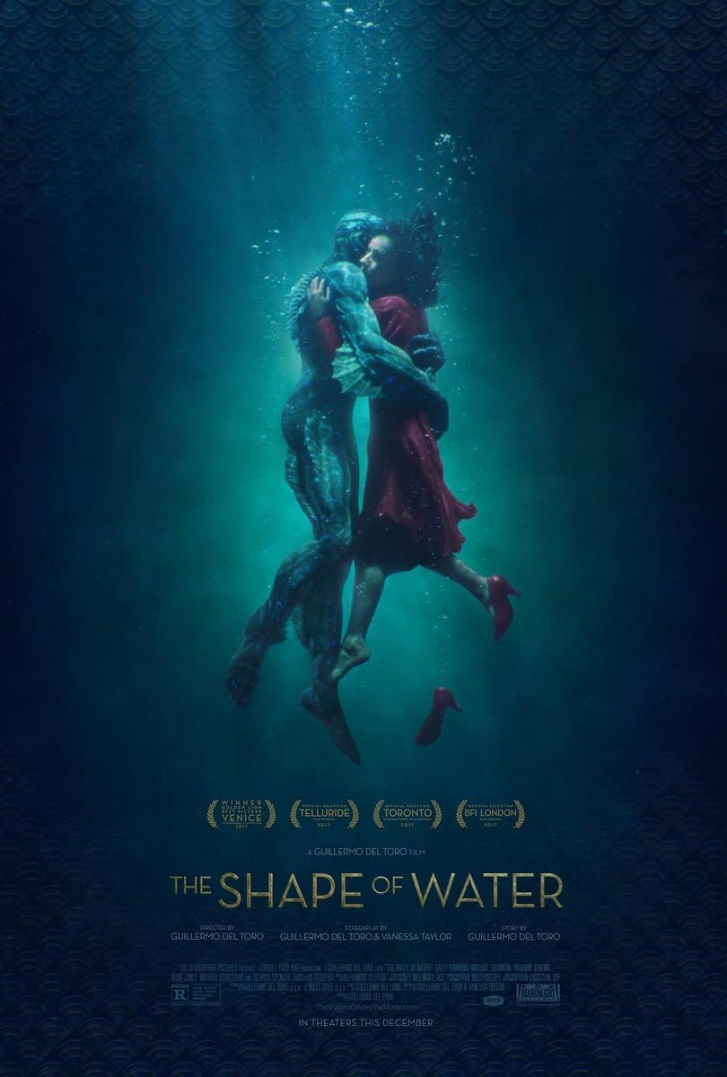 Guillermo Del Toro's The Shape Of Water Gets A New Poster