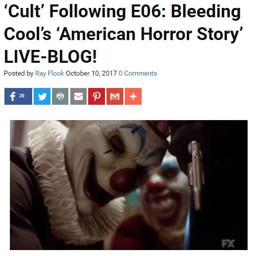 """'American Horror Story: Cult"""" E06 Recap: 'This Is The Face Of True Love'"""